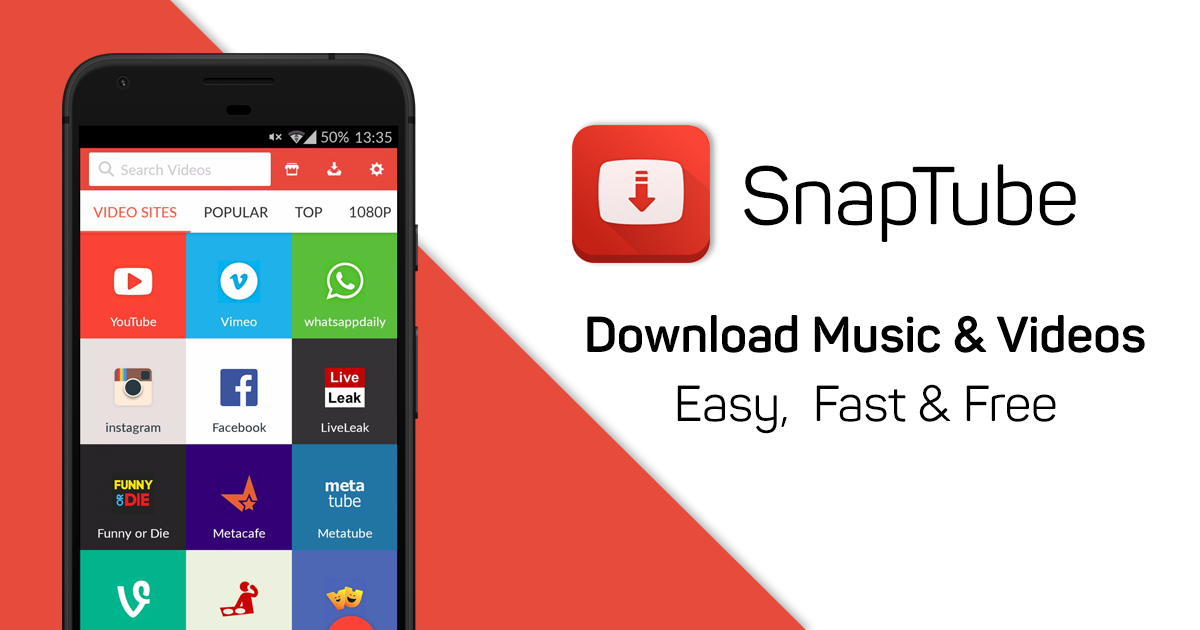 SnapTube – YouTube Downloader HD Video Beta