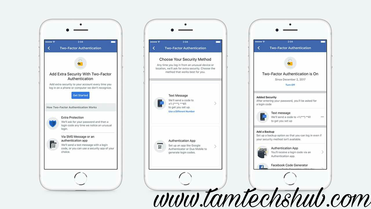 Two-Factor Authentication For Facebook Now Easier To Set Up