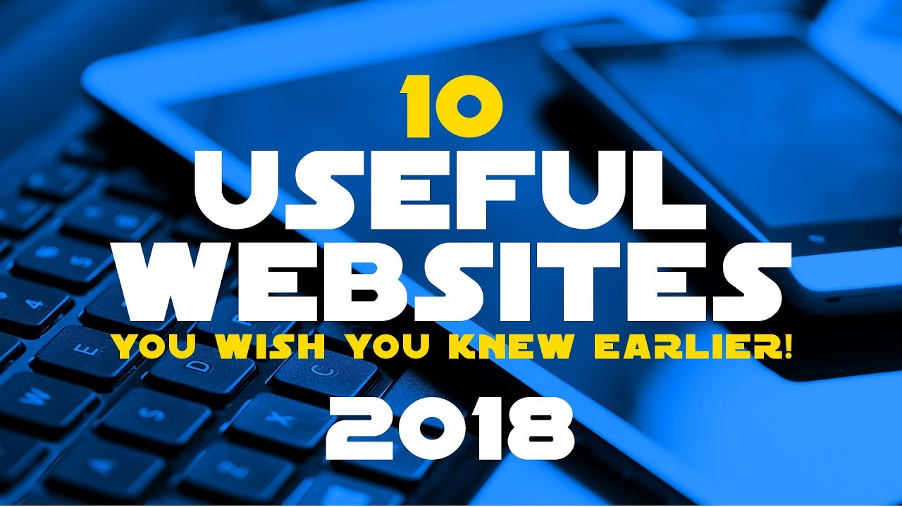 10 Most Useful Websites!