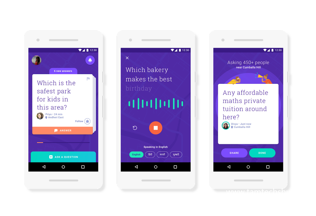 Google Neighbourly: Ask Questions & Get Answers